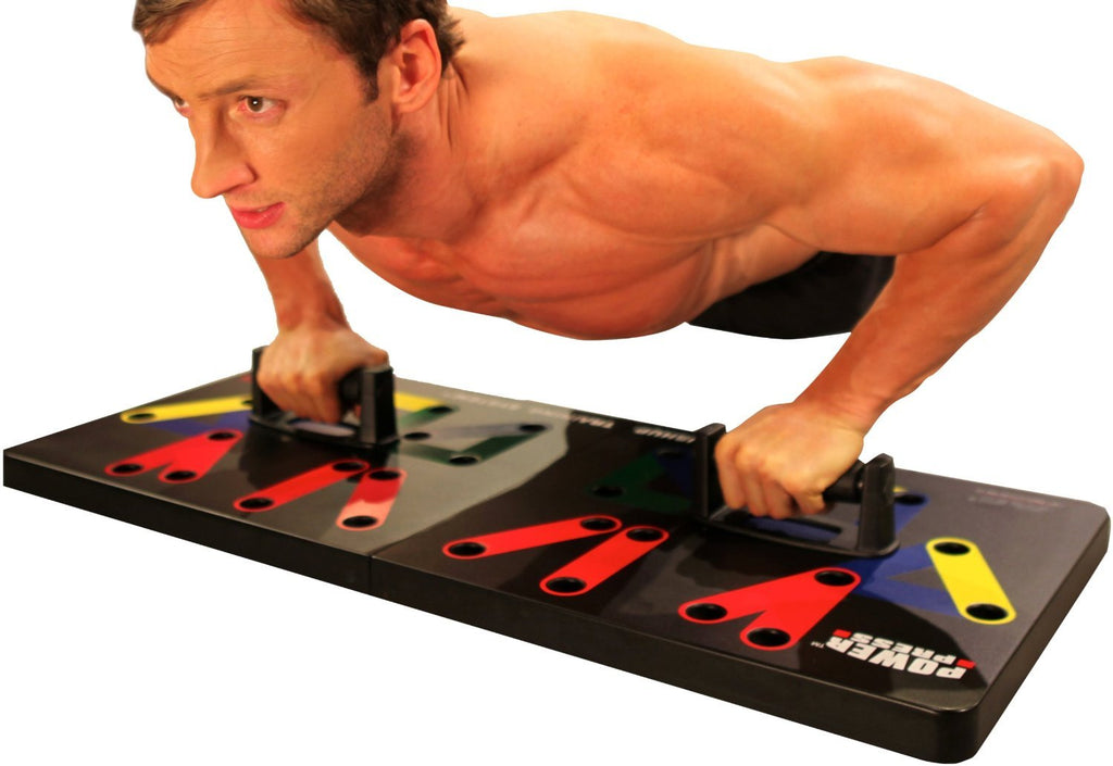Maximum Fitness Gear MFGPP0312 Press Push Up-Complete Push Up Training System