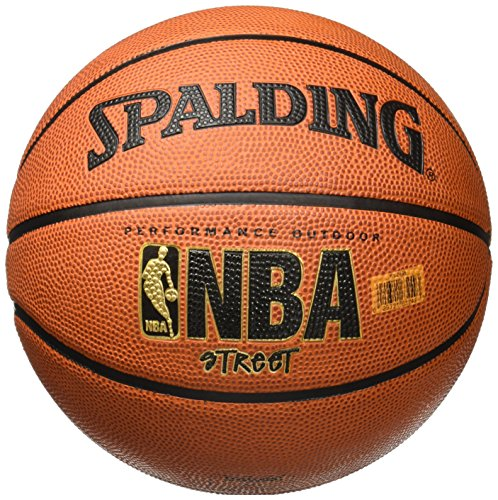 Spalding NBA Street Rubber Outdoor Basketball, Size 7/29.5""