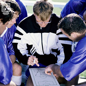 Crown Sporting Goods Dry Erase Soccer Coaching Clipboard