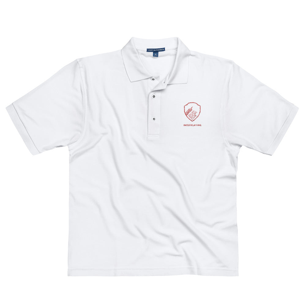 #KEEPPLAYING! Men's Polo Shirt