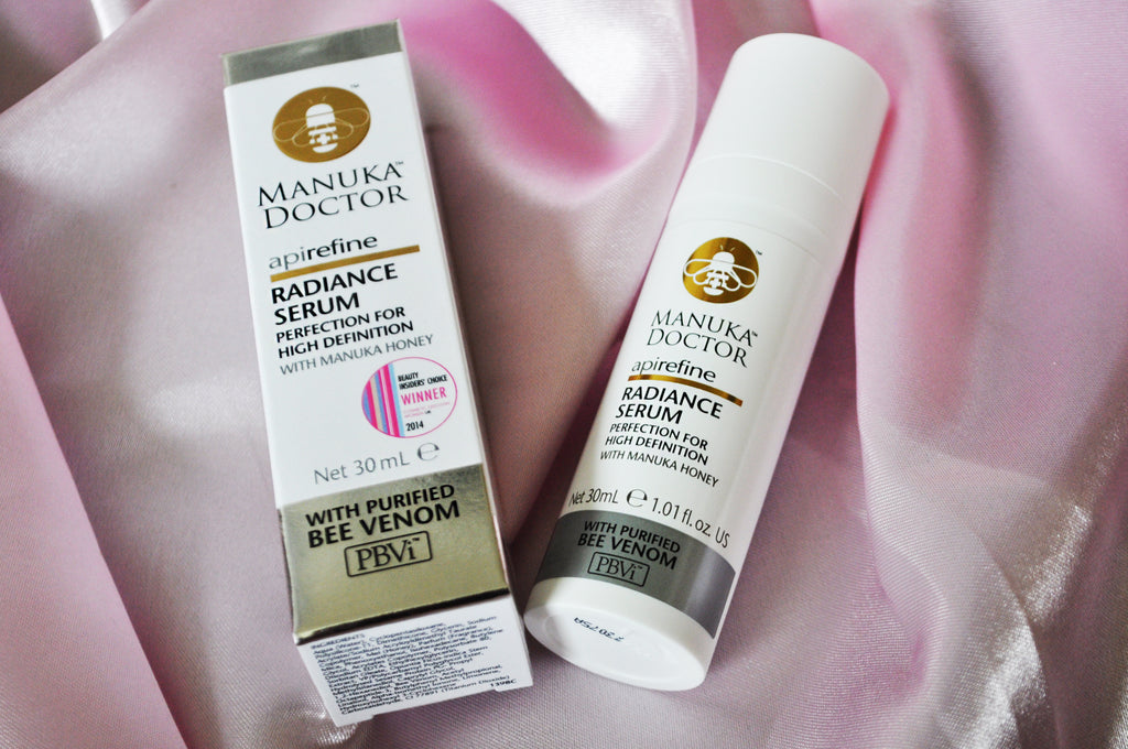 Get Skin Fit with Manuka Doctor ApiRefine Radiance Serum!