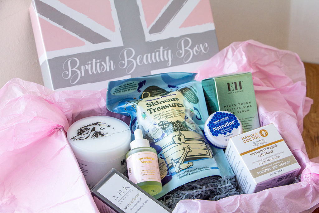 A Breakdown of British Beauty Box #Box2
