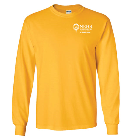 Gold Long Sleeve Shirt