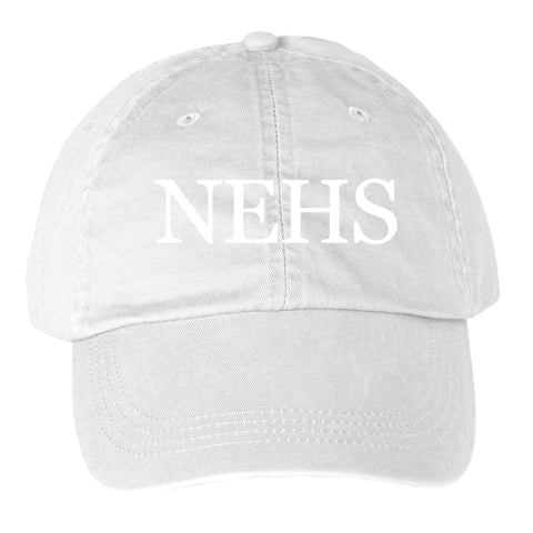White Tone on Tone Hat