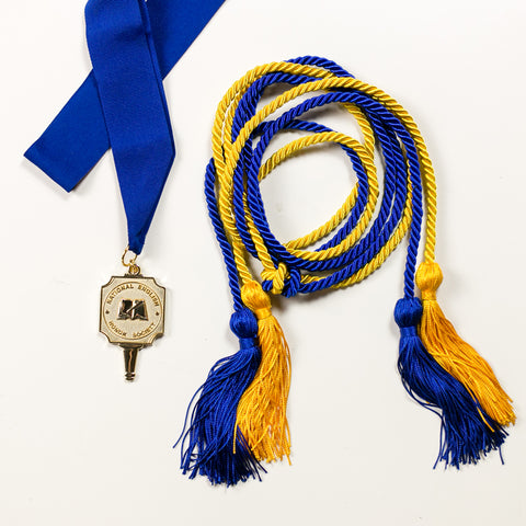 Medallion and Honor Cord Combination