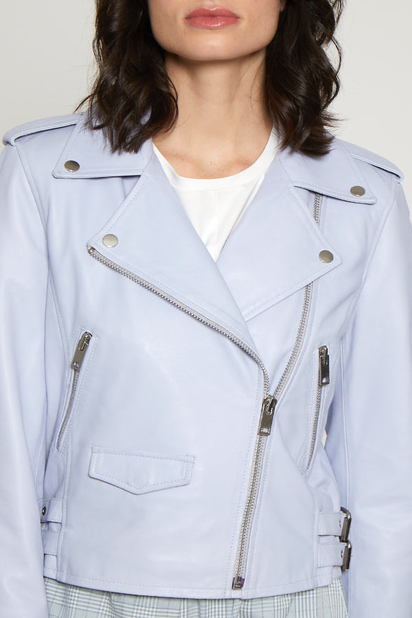 Liz Jacket, Crystal Blue
