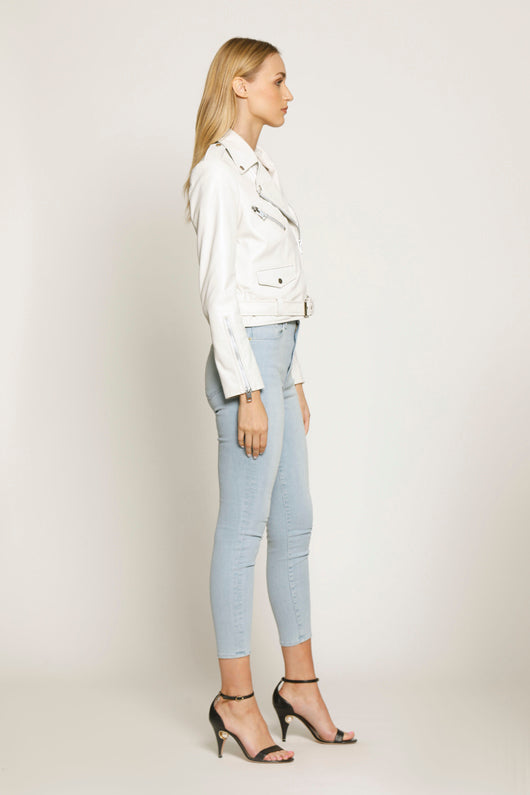 Ellete Jacket, Bright White