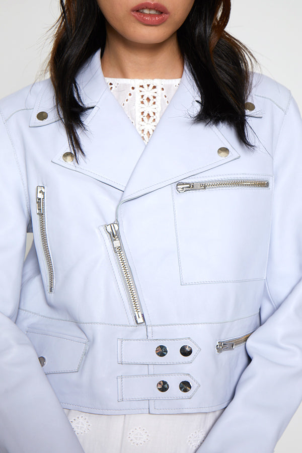 Terry Jacket, Crystal Blue