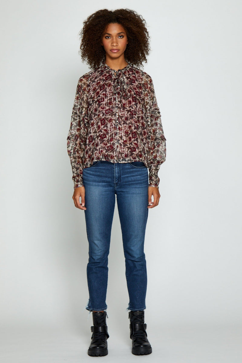 Unity Top, English Rose