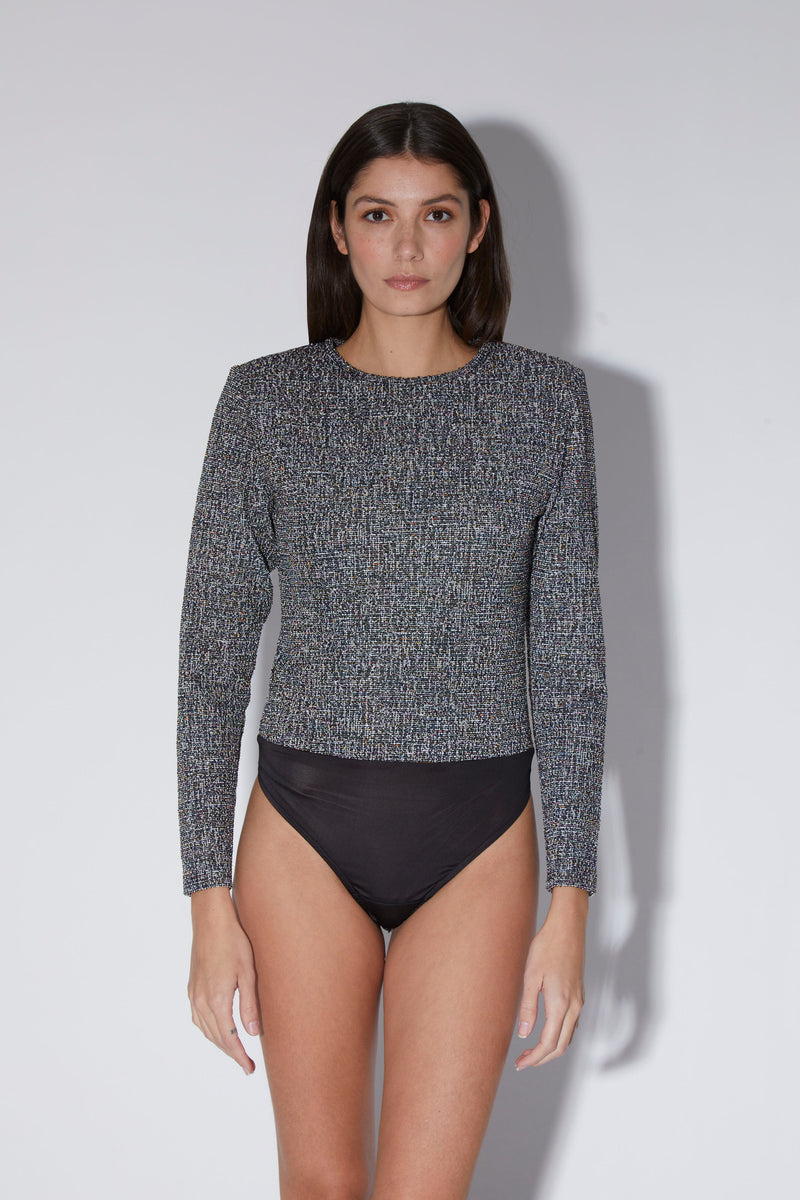 Skylar Bodysuit, Starlight Knit