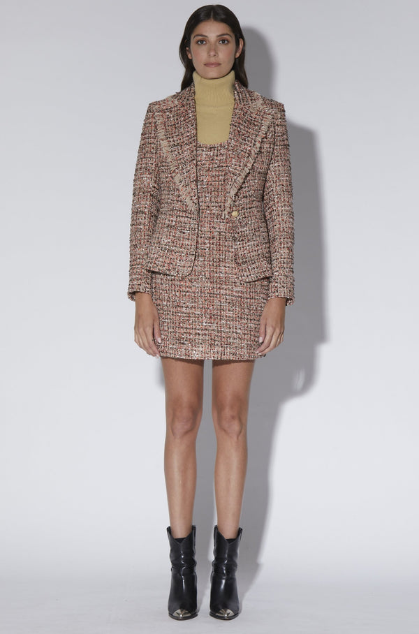 Lana Jacket, Belmont Tweed - Boucle