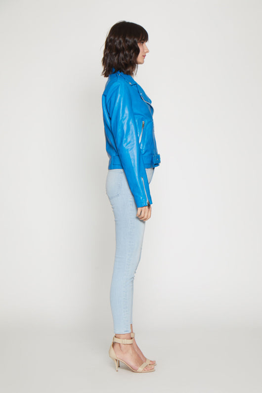 Kelsey Jacket, Bright Blue