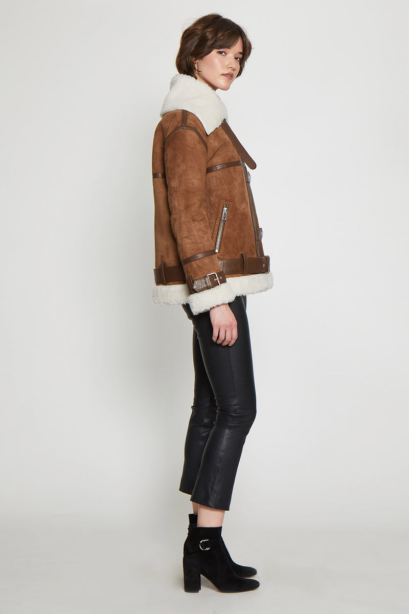Kat Jacket, Brown