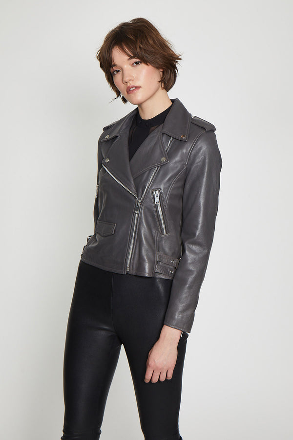 Liz Jacket, Dark Grey