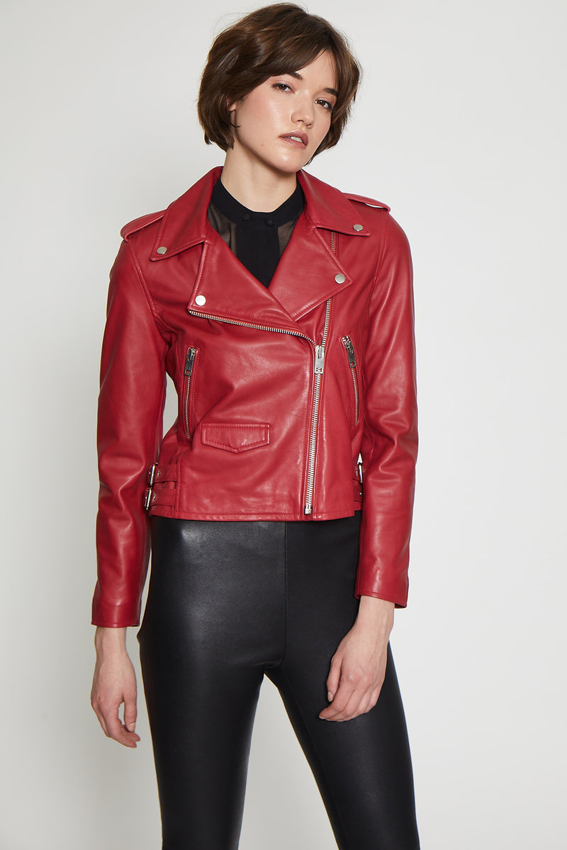 Liz Jacket, Dark Red