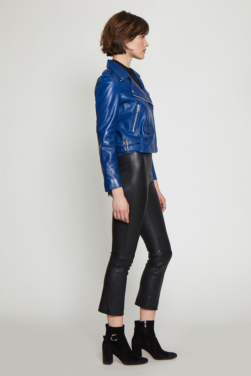 Liz Jacket, Cobalt Blue