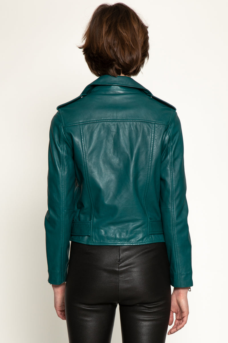 Allison Jacket, Emerald Green
