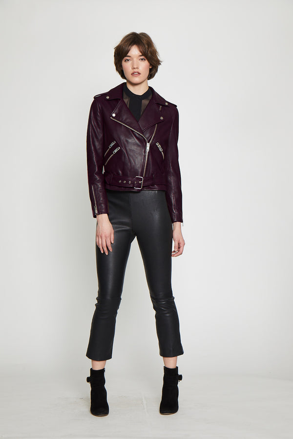 Allison Jacket, Burgundy