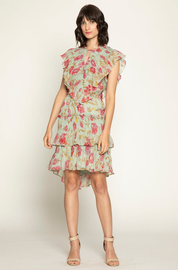 Dayna Dress, Green Gardens