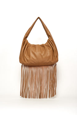 Medium Joanne Bag, Brown Sugar