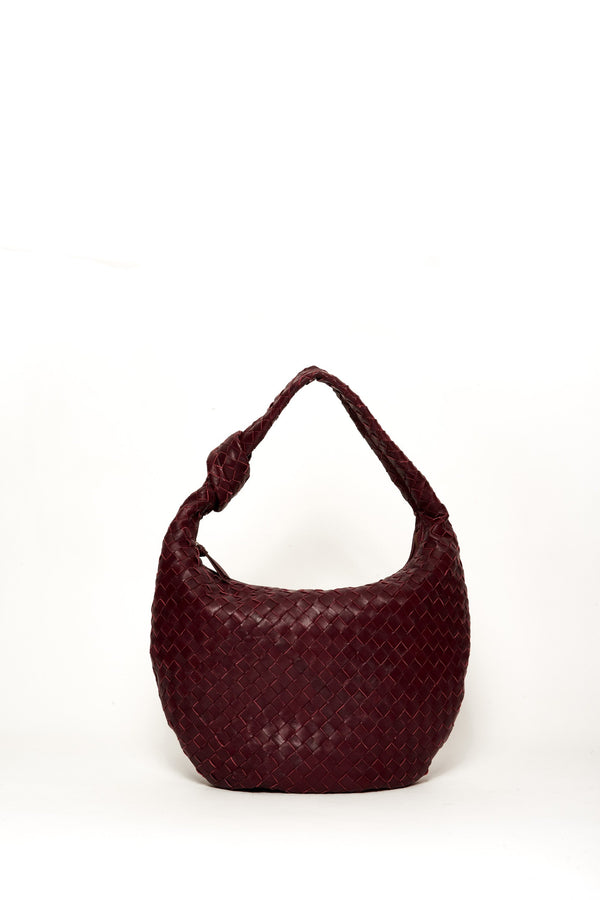 Medium Dahlia Bag, Blackberry
