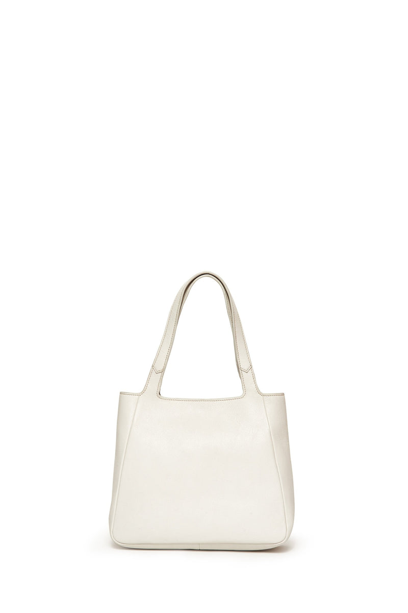 Medium Harlan Bag, Stark White