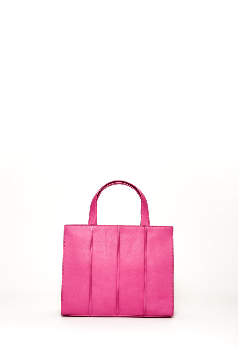 Medium Quinn Bag, Fuchsia