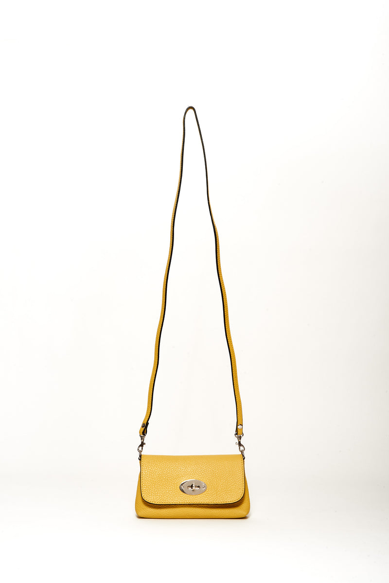 Small Diego Belt Bag, Lemon