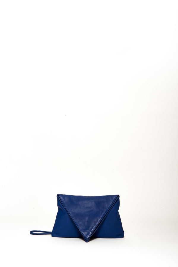 Small Wendy Envelope Bag, Cobalt
