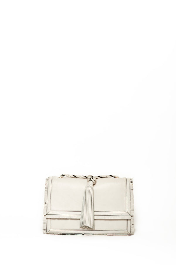 Medium Tess Crossbody, Antique White