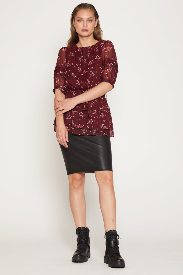 Landrie Top, Plum Petal