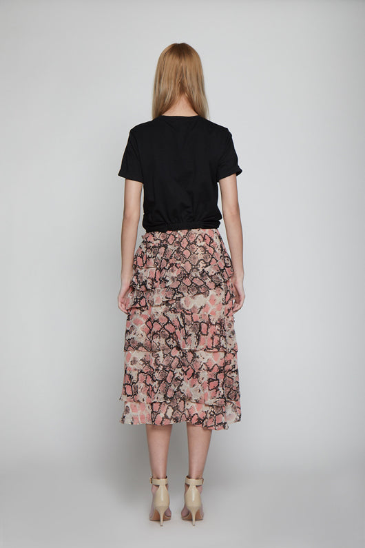 Lizzo Skirt, Blushing Snake