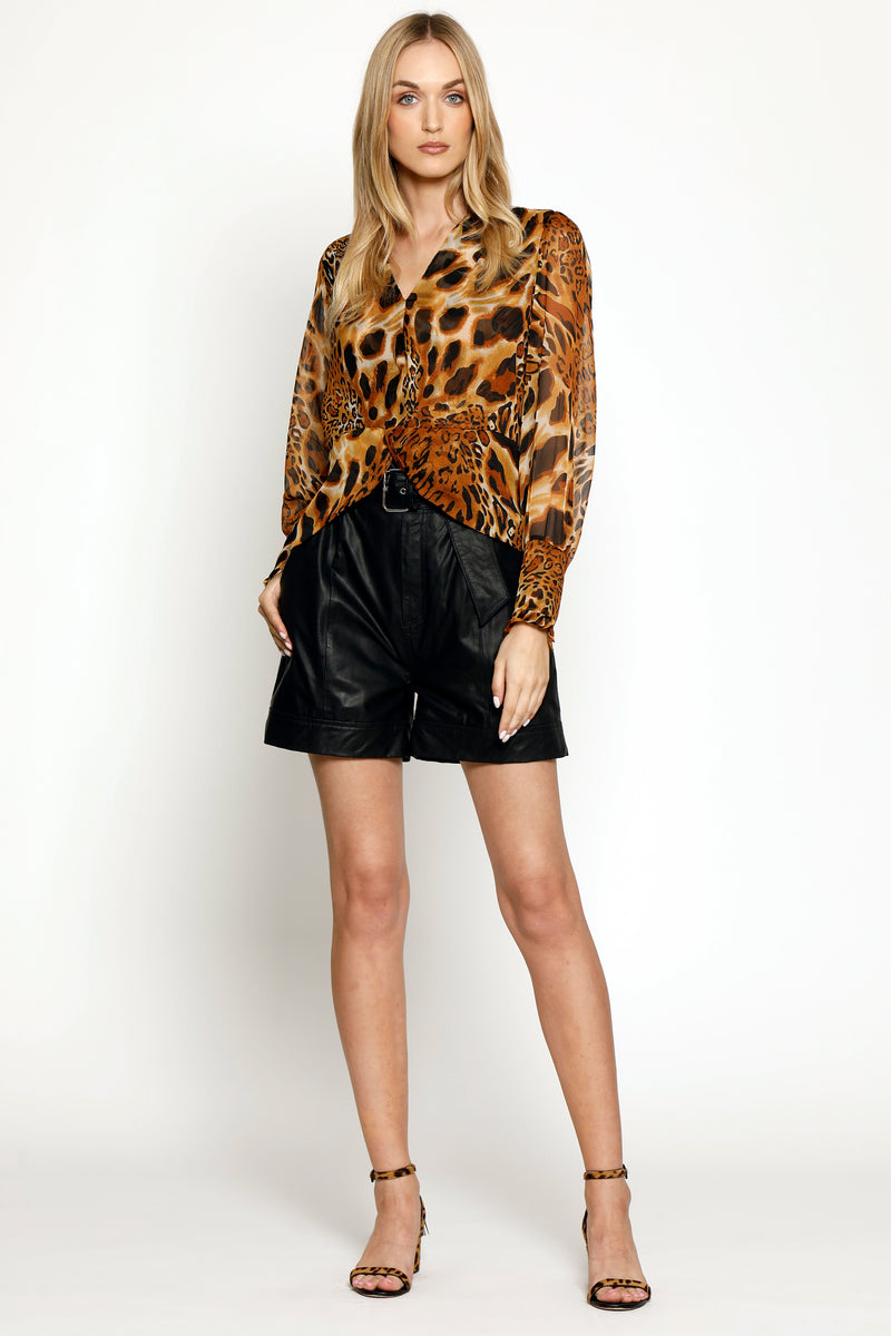 Elvenna Top, Cheetah