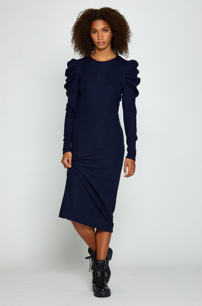 Lela Dress, Navy