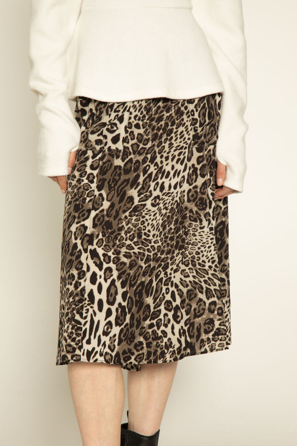 Lula Skirt, Clouded Leopard