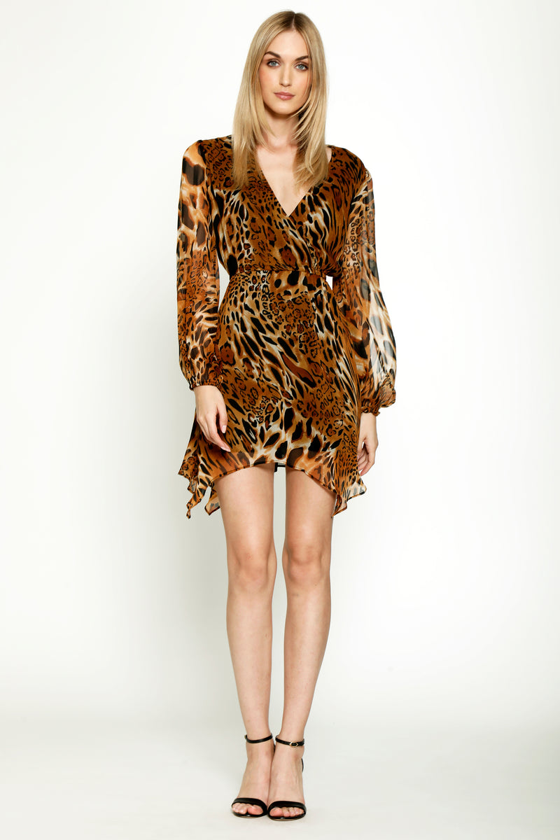 Avis Dress, Cheetah