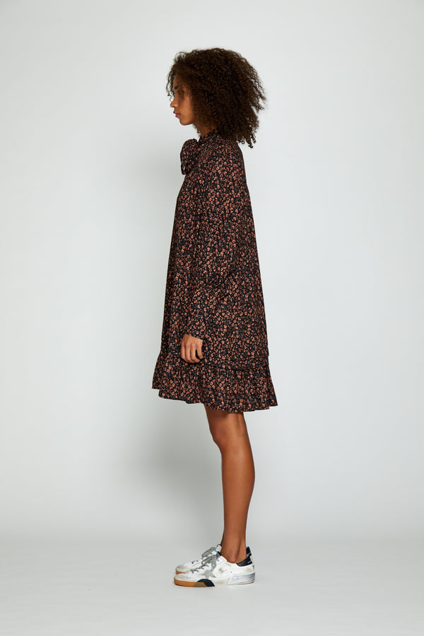 Alexa Dress, Black Floral