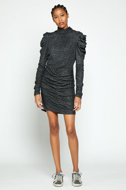 Carter Dress, Black Sparkle