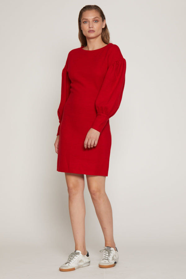 Polly Dress, Red