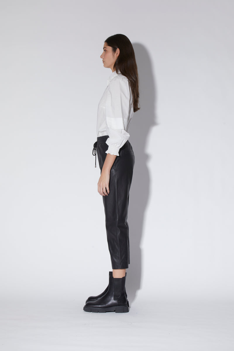 Juniper Top, White - Cotton Poplin