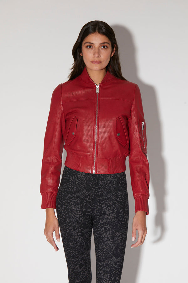 Hailey Jacket, Red