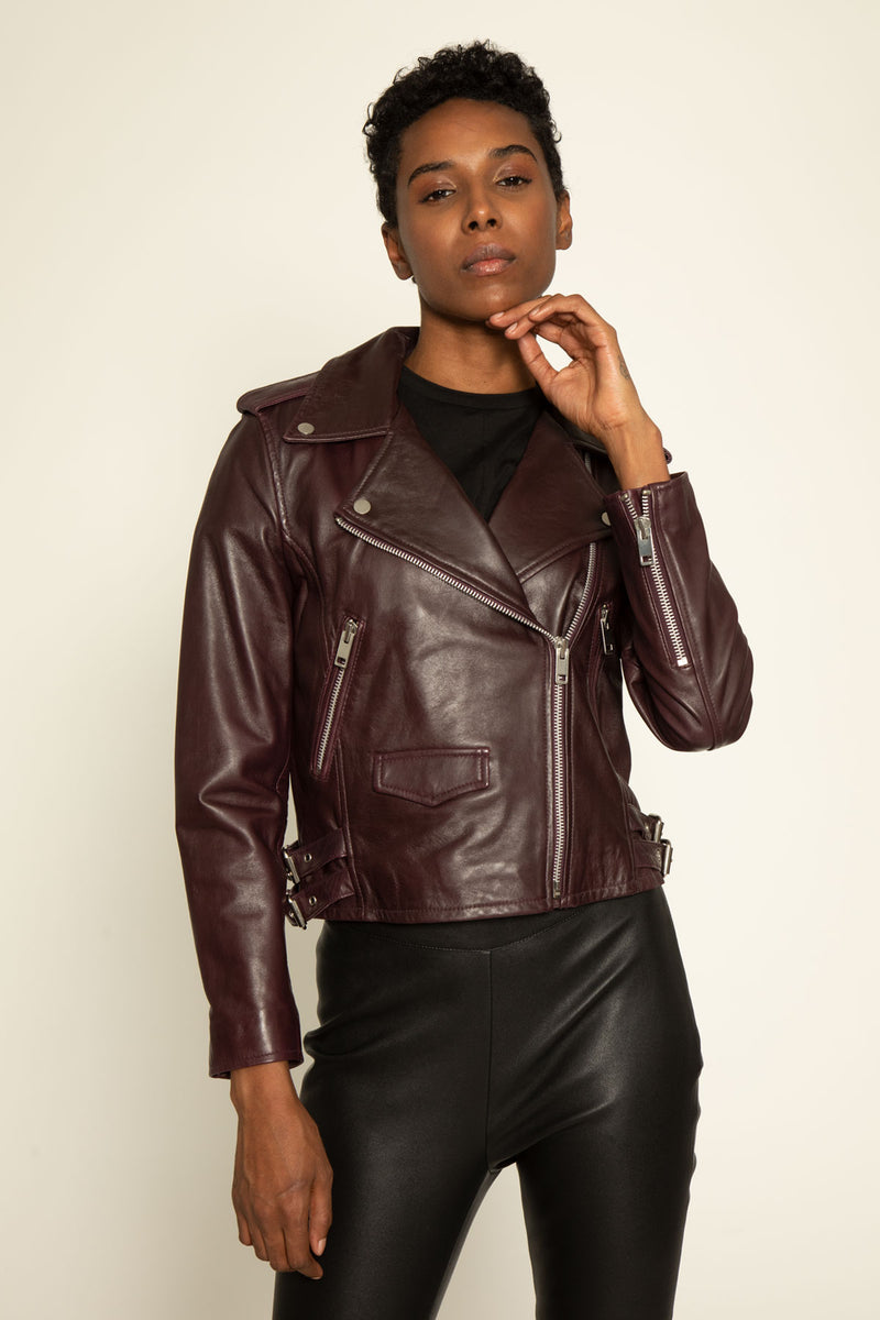 Liz Jacket, Burgundy