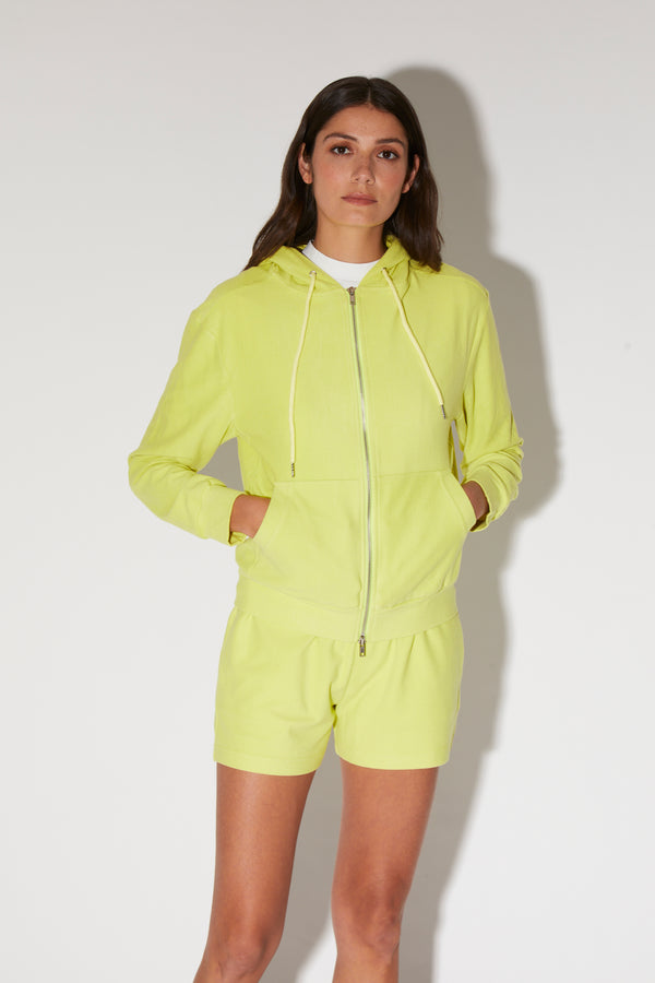 Melory Hoodie, Lime