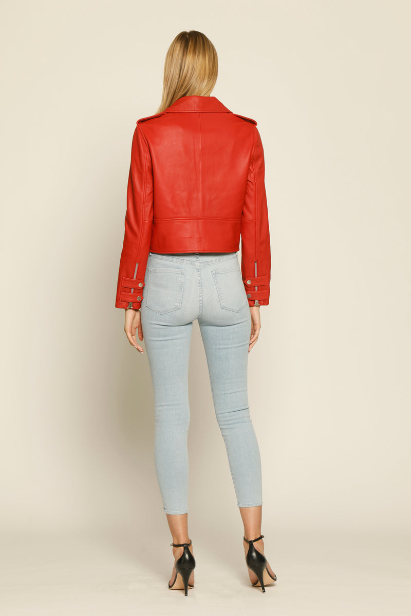 Terrie Jacket, Ruby Red