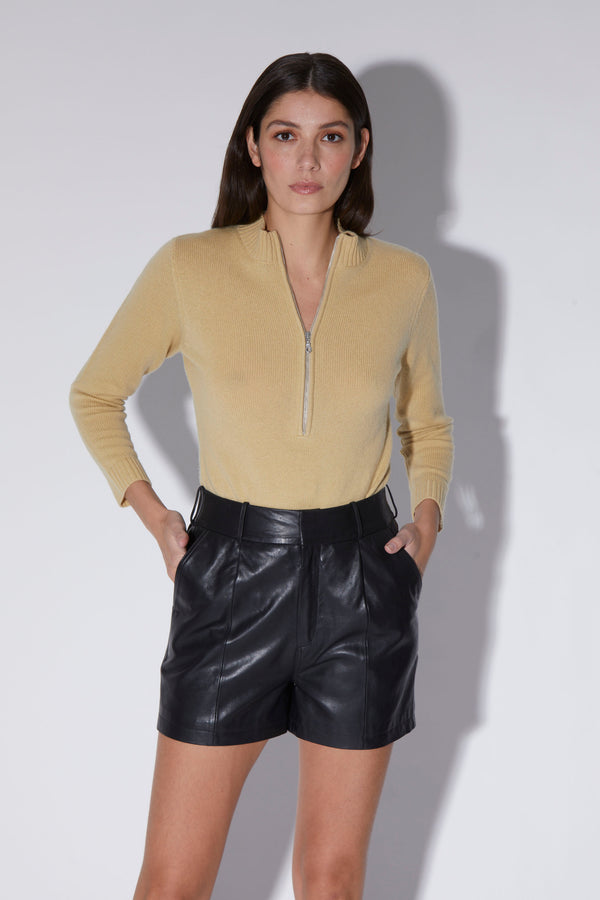 Elena Bodysuit, Laurel - Regal Knit Cashmere