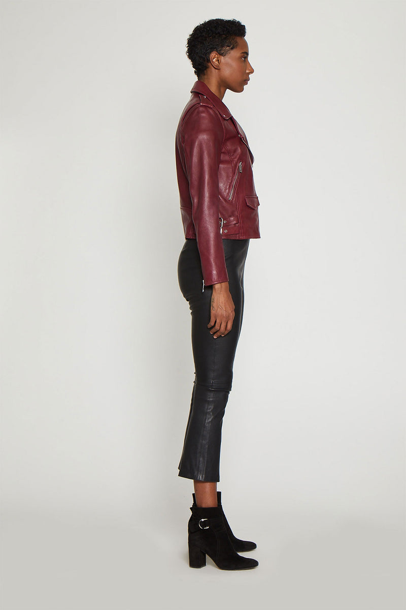 Liz Jacket, Oxblood