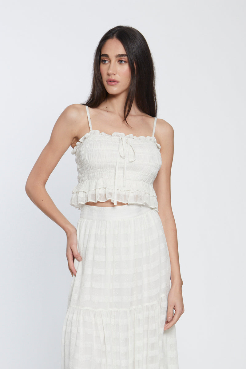 Lydia Top, Ivory