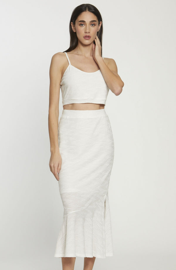 Joy Skirt, White