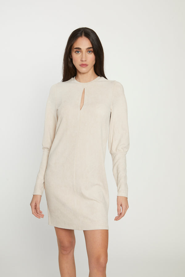 Rixa Dress, Beige