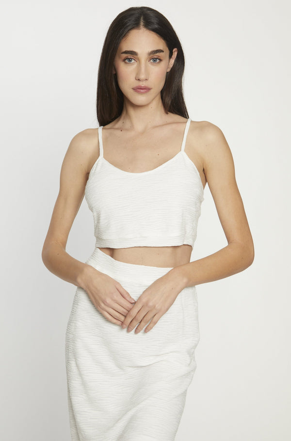 Hope Top, White